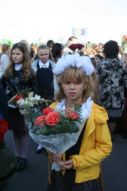 Цветы и девушки 4
