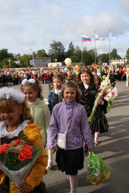 Цветы и девушки